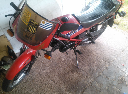 Motorcycle Honda MB5