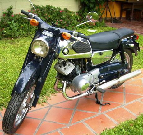 Motorcycle Suzuki TB 250 Colleda