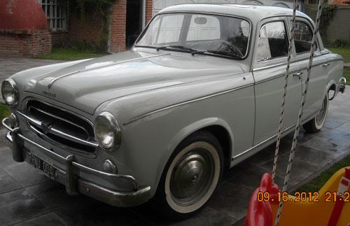 Car Peugeot 403 1965