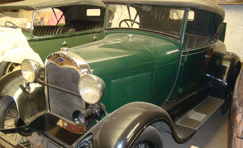 Car Ford A 1928 Roadster