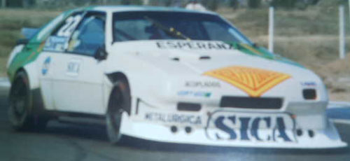 Car Renault Fuego TC 2000