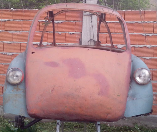 Car Heinkel Cabine 1958