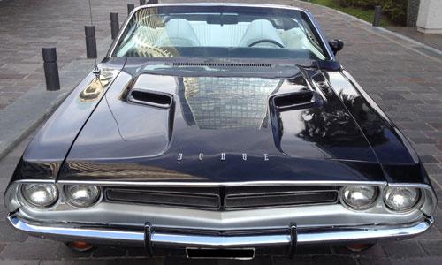 Car Dodge Challenger RT 383 Cabrio