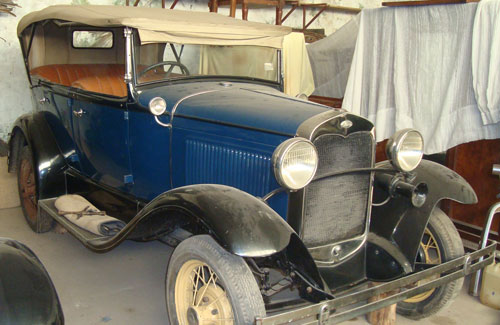 Car Ford A 1930 Phaeton