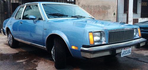 Car Buick Skylark Coupé