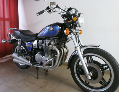 Car Honda 650 1981 Custom