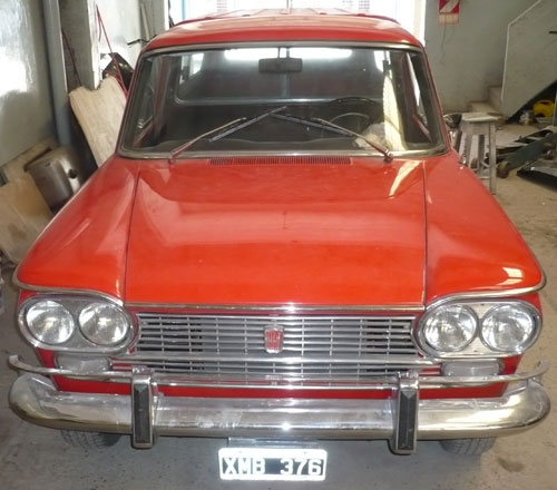 Car Fiat 1968