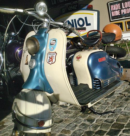 Moto Siambretta De Luxe 150