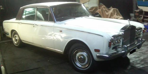 Car Rolls Royce Silver Shadow