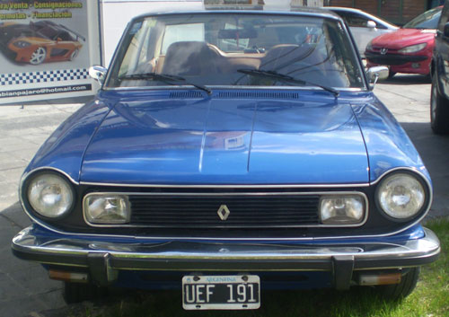 Auto IKA Renault Torino ZX 1981