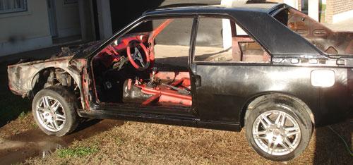 Car Renault Fuego
