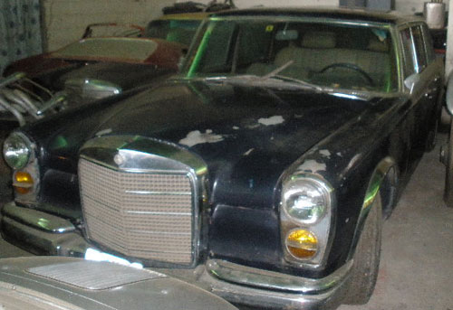 Car Mercedes Benz 600 Pullman