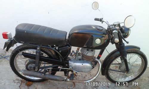 Motorcycle Zanella 1976