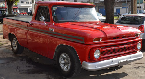 Car Chevrolet Pick Up 1965