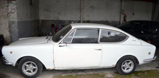 Car Fiat 1600 Coupé