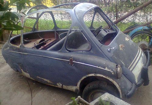 Car Heinkel 1957