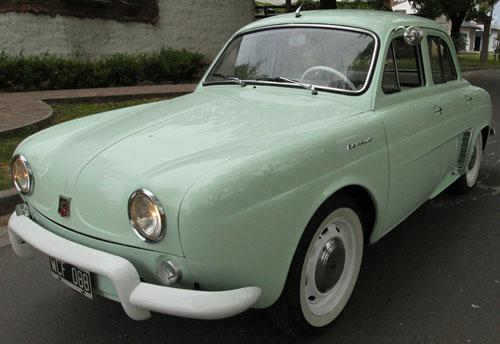 Auto Renault Dauphine 1965