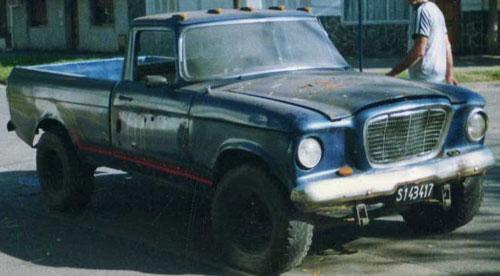 Car Studebaker Champ