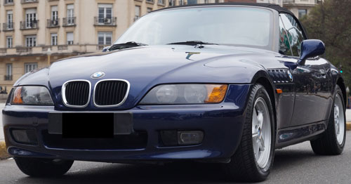 Car BMW Z3 1,9 Roadster