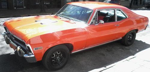 Car Chevrolet Chevy SS Coupé 1972