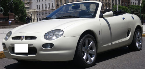 Car MG F Cabriolet