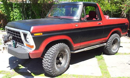 Auto Ford Bronco 1979