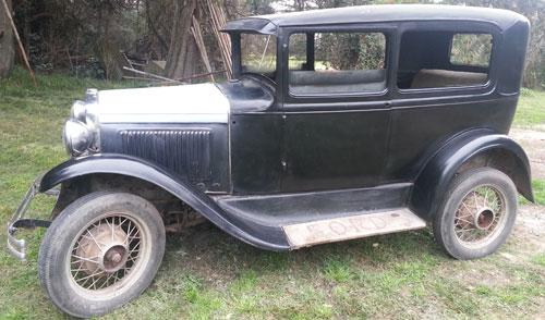 Auto Ford A Tudor