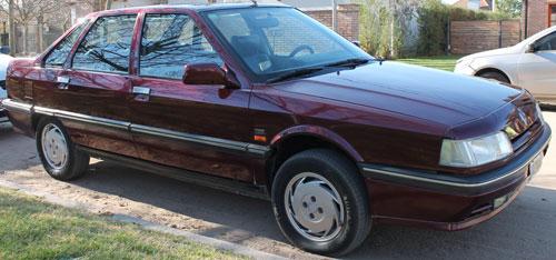 Auto Renault 21 TXE 2.2 1995