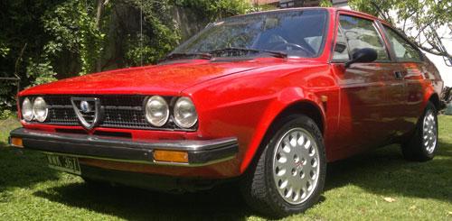 Car Alfa Romeo Sprint Veloce 1,5