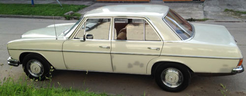 Car Mercedes Benz 250 1968