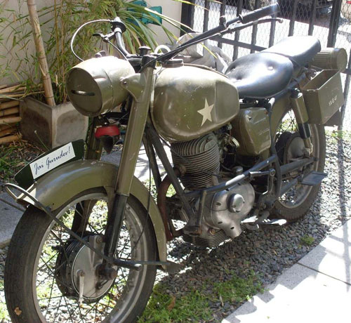 Motorcycle Panonia 1956