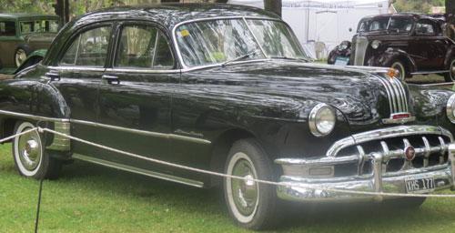 Car Pontiac Silver Streak 1950