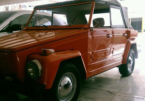 Car Volkswagen Safari 1976
