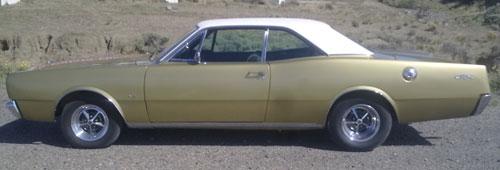 Car Dodge GTX 1974