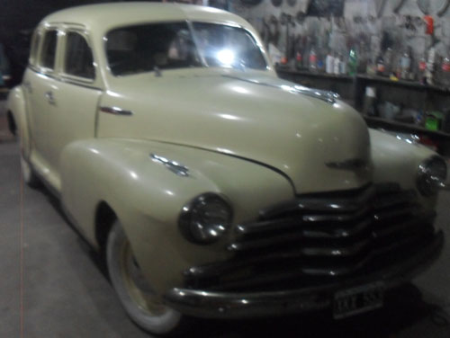 Car Chevrolet Fleetmaster 1947