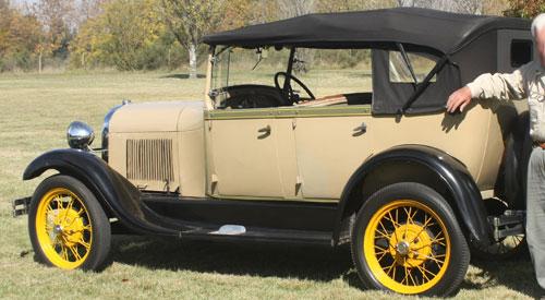 Auto Ford A 1929 Phaeton