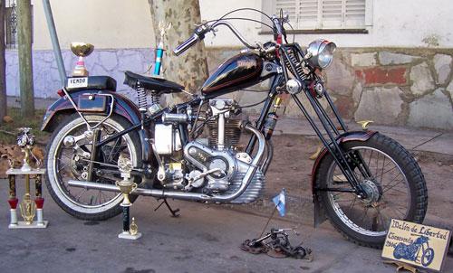 Motorcycle Bianchi 500