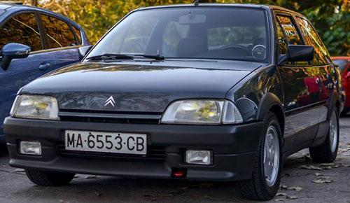 Auto Citroen AX GTX