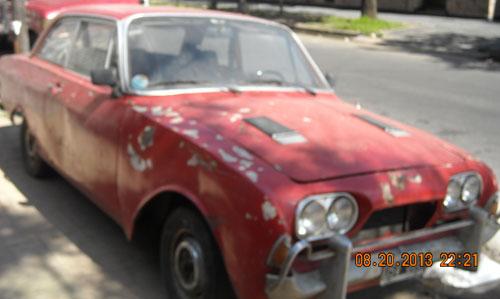 Auto Ford Taunus 17M