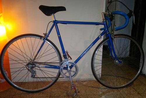 Bicicleta Hispano Francia Carrera
