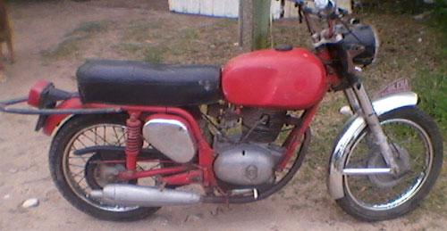 Motorcycle Gilera 1968