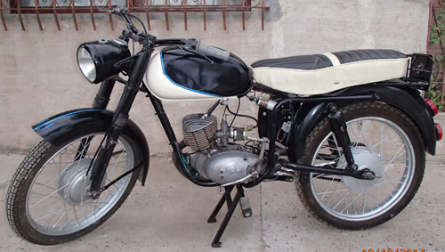 Motorcycle DKW 1957