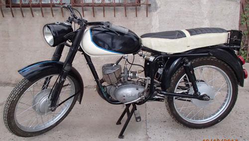 Moto DKW 1957