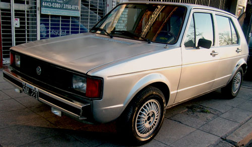 Car Volkswagen 1981 Rabbit L