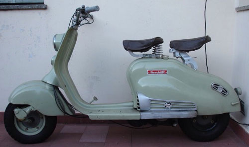Motorcycle Siambretta 125 De Lujo