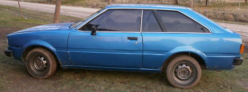 Car Toyota Corolla 1981