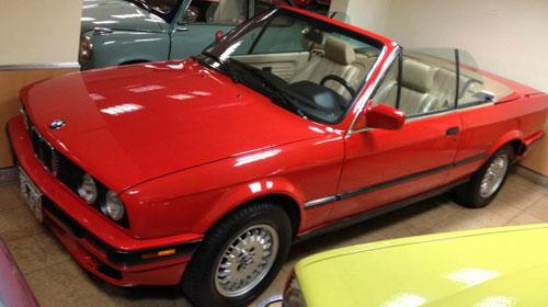 Car BMW 318 Cabriolet
