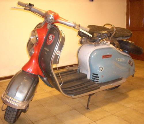 Motorcycle Siambretta LD 150