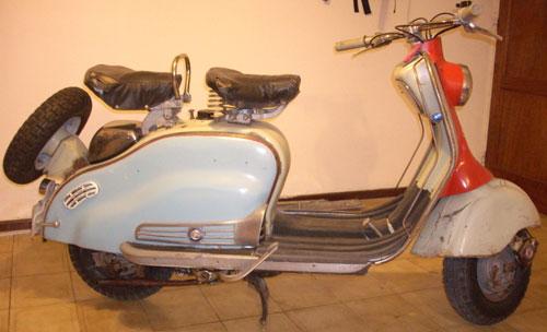 Motorcycle Lambretta LD 150 AVV