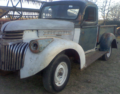 Car Chevrolet 1946 Pick Up
